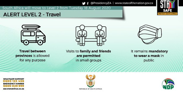 Inter-provincial travel is now permitted