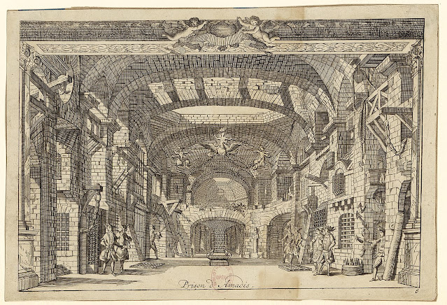 Lully: Amadis - The Prison of Amadis in the original 1684 production