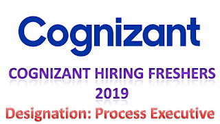 Cognizant Hiring Freshers in Hyderabad