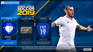 DLS 2019 Mod FIFA ULTIMATE 19 Savedata Download