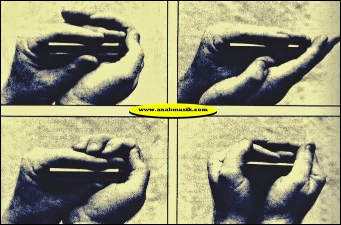 Cara Memegang Harmonika