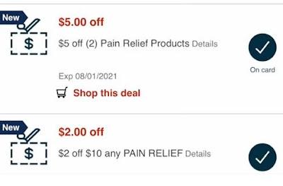 cvs pain crt coupons