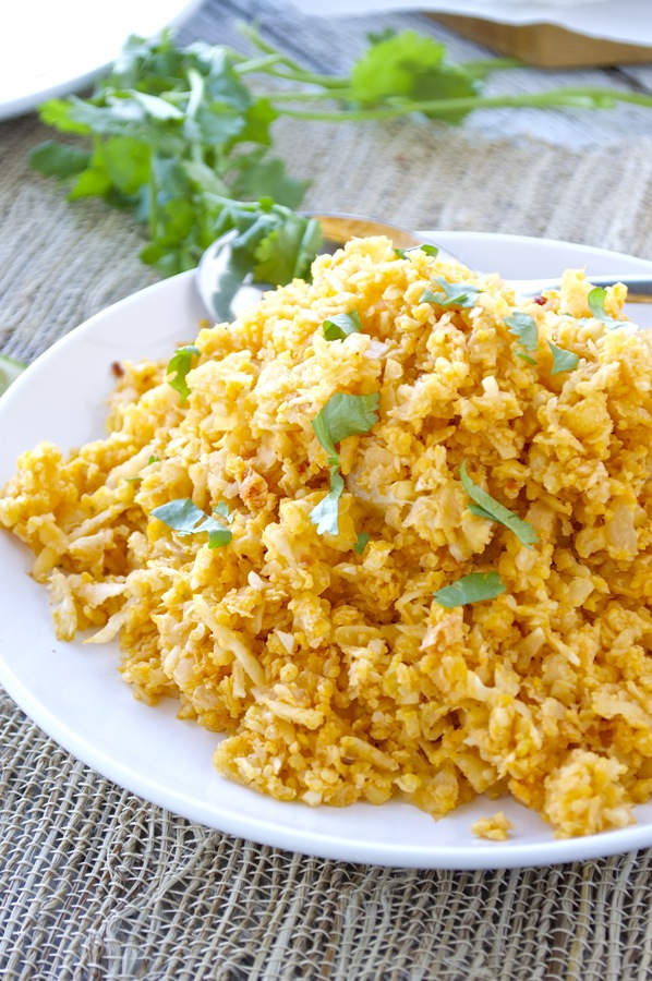 """Mexican Cauliflower """"Rice"""" #dinner #healthyrecipe #breakfast #food #cauliflower"""