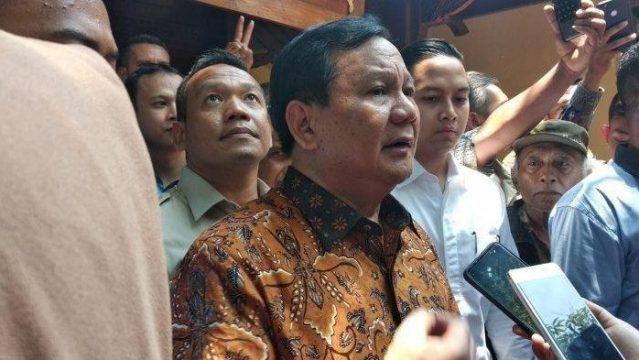 Gerindra: Jokowi Respek karena Prabowo Orang Pintar