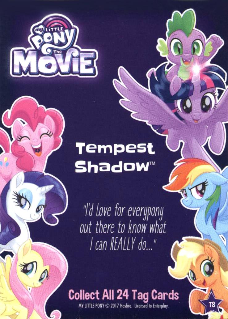 Mlp Tempest Shadow Dog Tags Mlp Merch