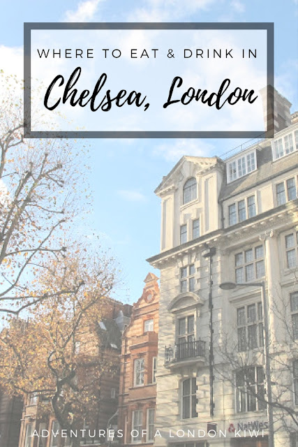 Where to eat and drink in Chelsea Adventures of a London Kiwi