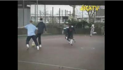 Regata y finta en el fútbol