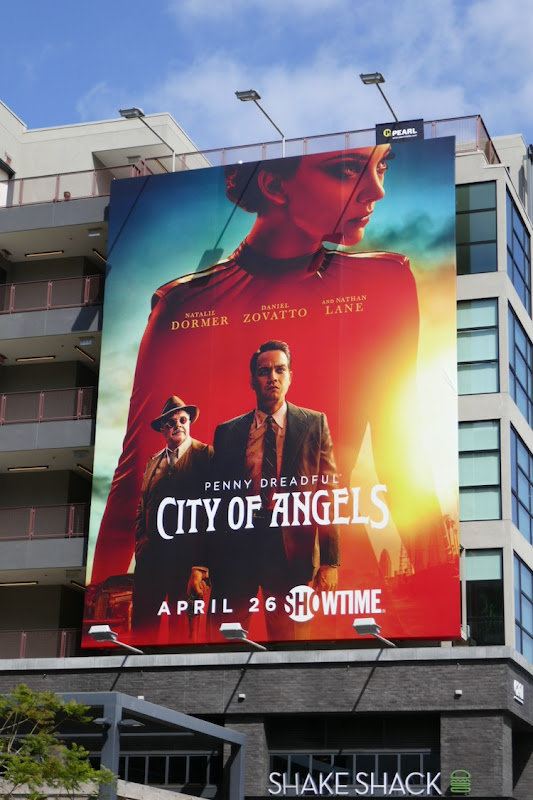 Penny Dreadful City of Angels series launch billboard