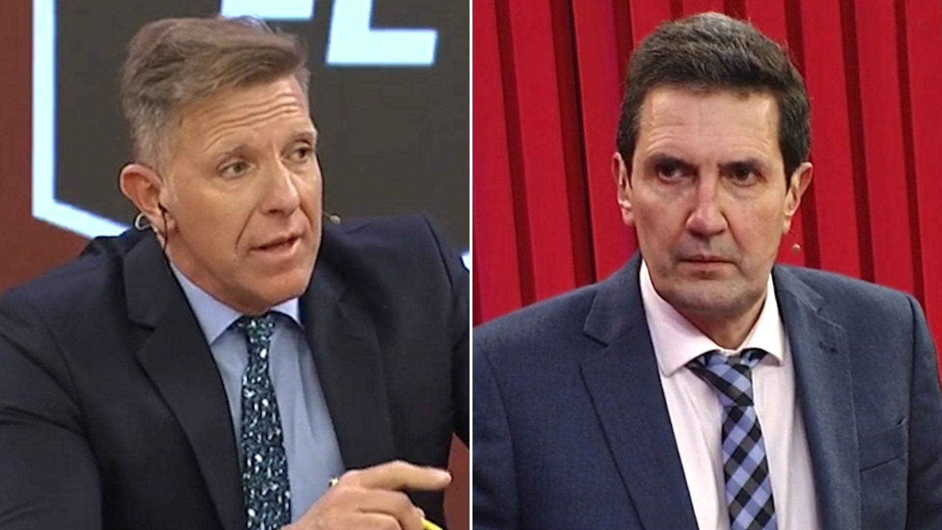 Alejandro Fantino Miguel Simon discusión en ESPN FC