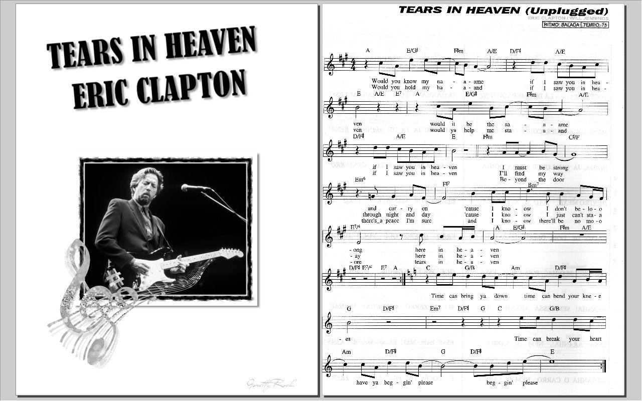 Musica A Cura Da Alma Tears In Heaven