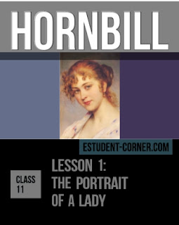 The Portrait of a lady Questions Answers | Lesson 1 | English | Hornbill | Class 11 | AHSEC