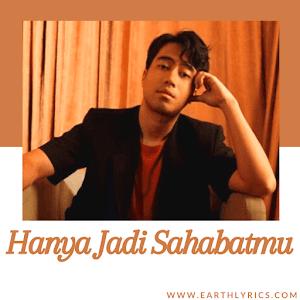 [ Original Lyrics ] Hanya Jadi Sahabatmu | Vidi Aldiano |