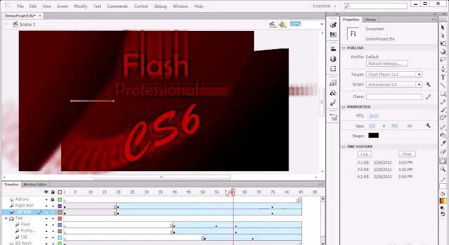 Download Adobe Flash CS6 Professional Full Version Terbaru 2021 Free Download