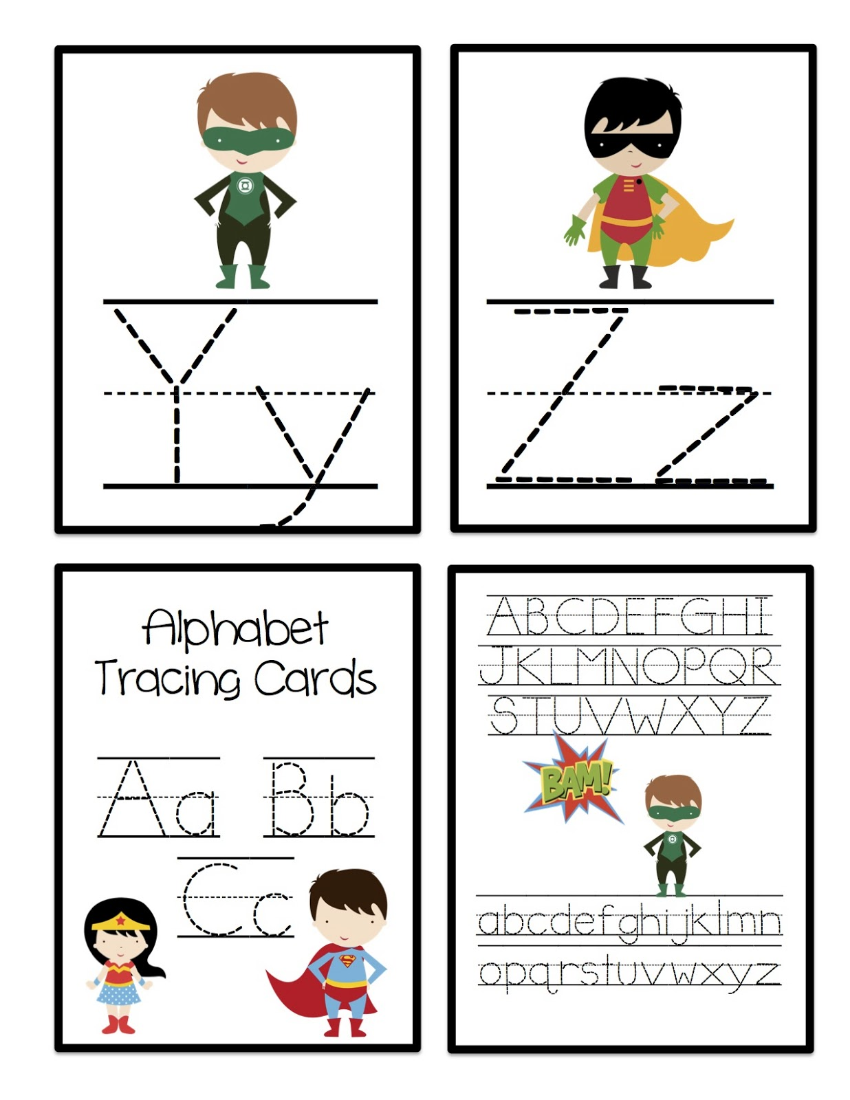 May Preschool Printables