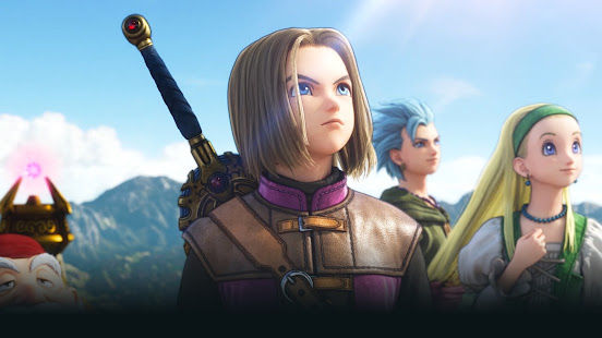 Dragon Quest XI S game characters