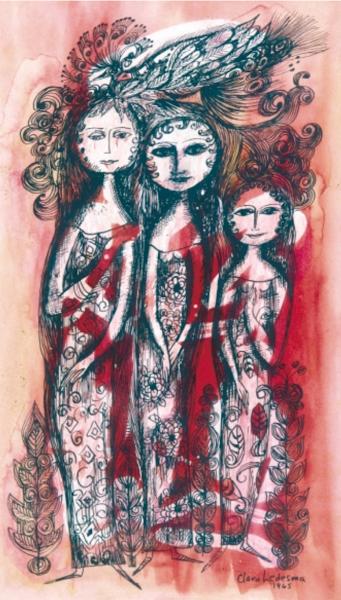 Las hermanas, Clara Ledesma, 1965