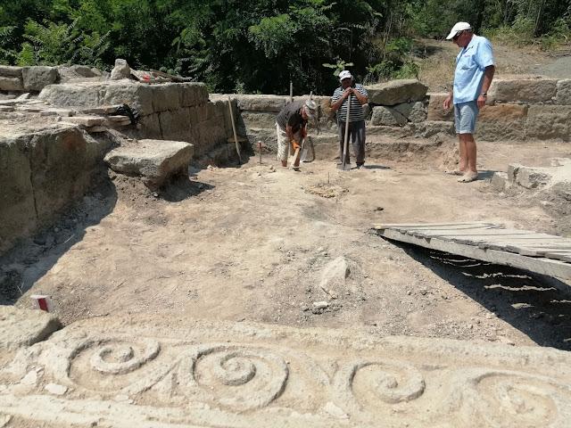 New finds at Bulgaria's Aquae Calidae site