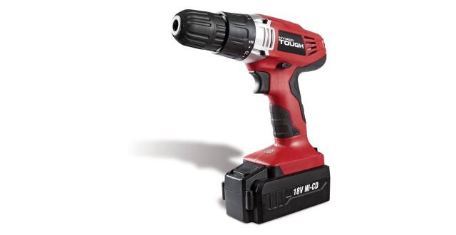 Hyper Tough 18-Volt Ni-cad Cordless Drill, AQ75023G