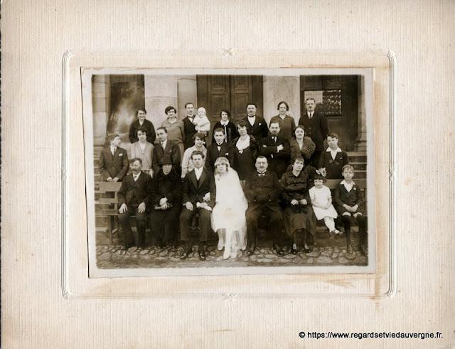 Photo de mariage ancienne