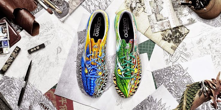 buy popular e8ff2 0bdfa F50 Adidas Adizero Yamamoto Football Boot. Adidas has launched this week  the new special edition ...