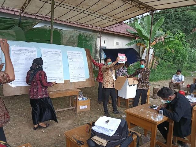 Penghitungan Suara PSU Pilgub Jambi di Desa Penyengat Olak Dimulai