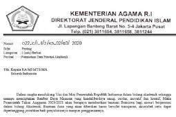 Bantuan Beasiswa Akademik Sekolah Madrasah