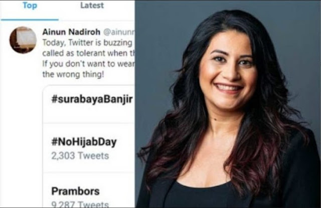 Pendiri Kampanye NoHijabDay, Ternyata Murtad