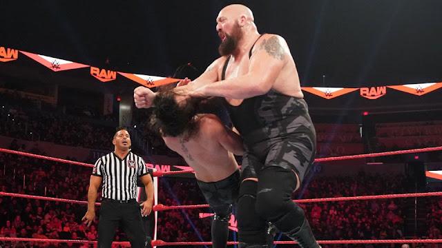 WWE RAW tem queda na sua audiência