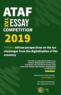 ATAF Tax Essay Competition 2019 [2nd Edition] | For Africans Worldwide