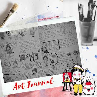 contoh art journal