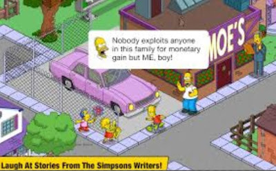 Screenshot The Simpsons™: Tapped Out Mod Apk