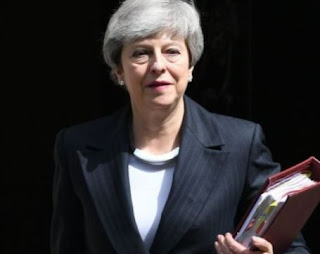 Theresa May to officially step down as leader of the Conservative Party today