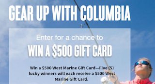 Coupons And Freebies: $500 West Marine Gift Card Giveaway - 5 ...
