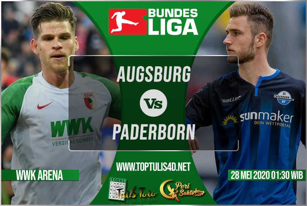 Prediksi Augsburg vs Paderborn 28 Mei 2020
