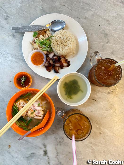 Lunch at Restoran Ipoh Kong Heng