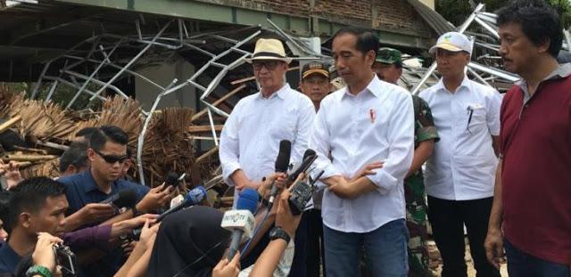Poros Maritim Jokowi Ternyata Hoax Gara-gara Cuma Urus Beginian, Ratusan Korban Jiwa Tsunami