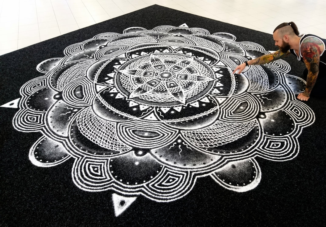 13-Large-Mandala-Dino-Tomic-aka-AtomiccircuS-Kitchen-Salt-Temporary-Drawings-www-designstack-co