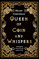Queen of Coin and Whispers by Helen Corcoran book cover
