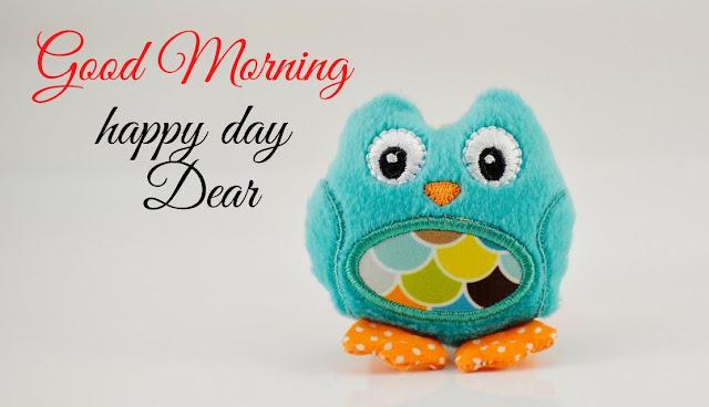 good morning happy day dear doll image
