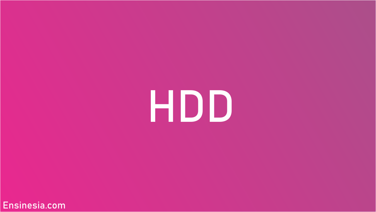 Cara kerja hdd,apa itu hdd beserta cara kerja jenis