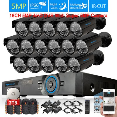 Pasang CCTV 16 Channel