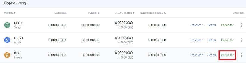Comprar AETERNITY por Bitcoin en HUOBI