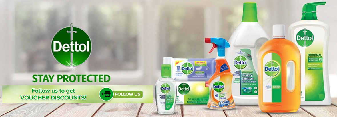 Free Dettol Shopping Voucher