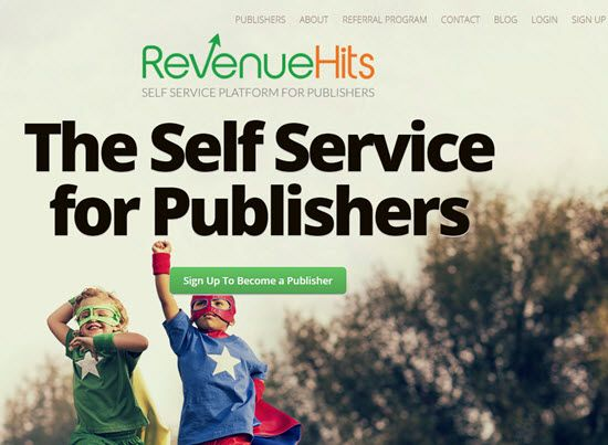 Revenue hits, how to earn from Revenue hits