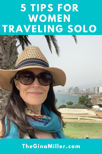 5 tips for women traveling solo