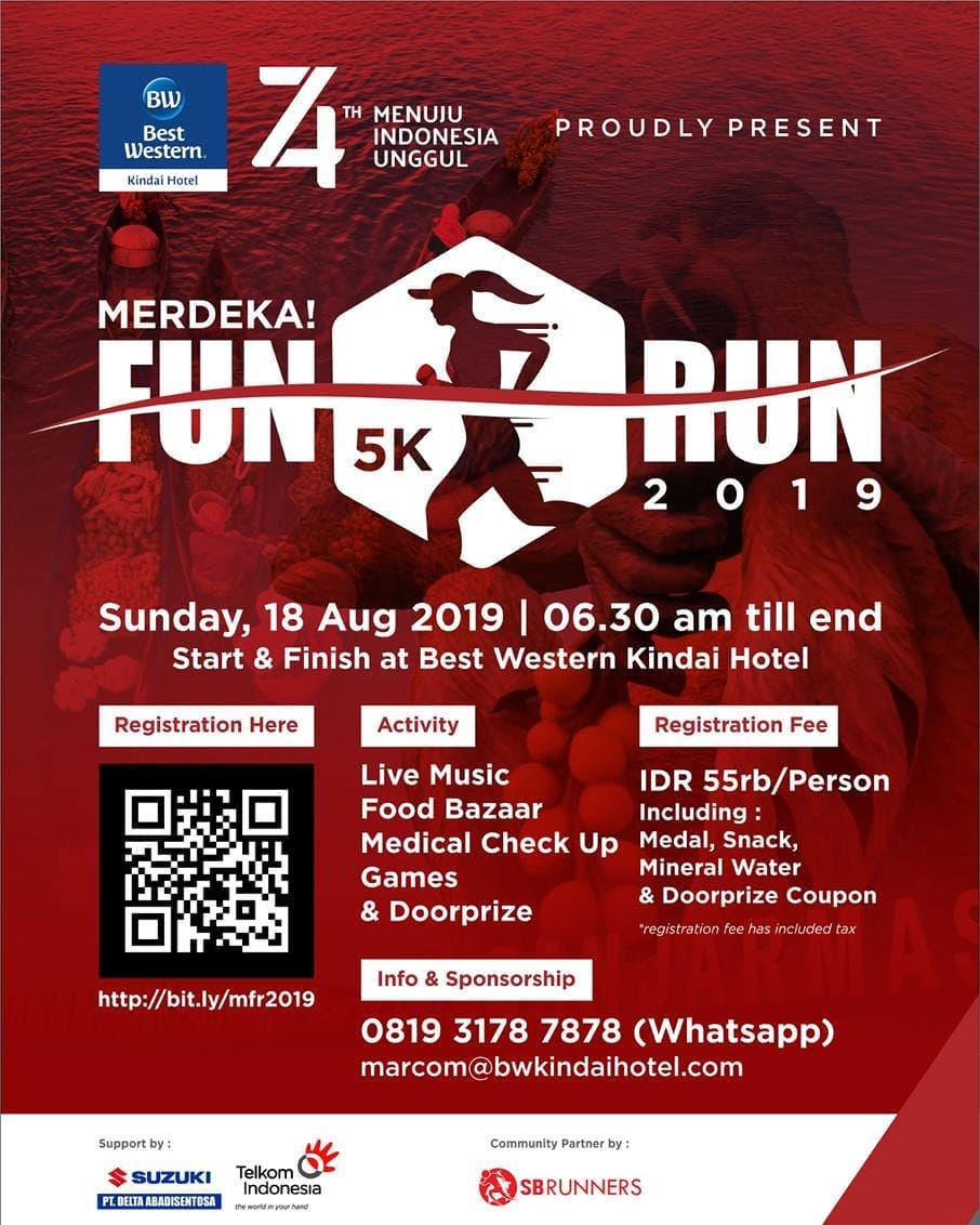 Merdeka! Fun Run • 2019