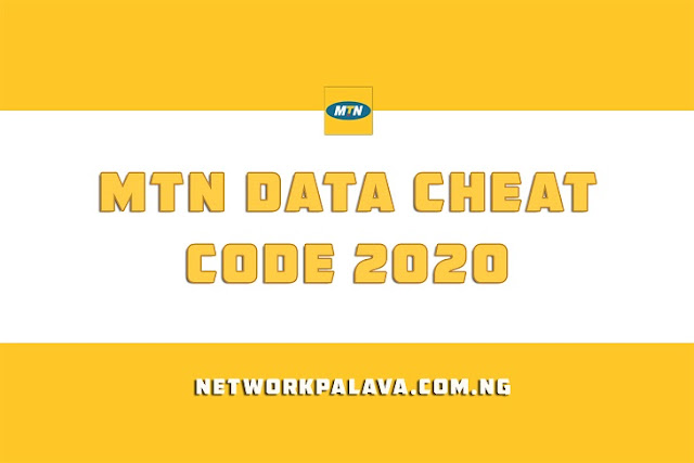 mtn data cheat codes 2020