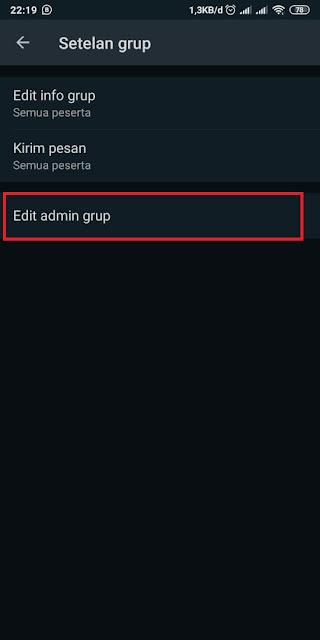 Cara Menambah Admin Grup WA 4