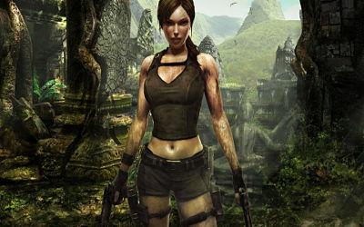 Lara Croft Tomb Raider - Fond d'écran en Full HD 1080p