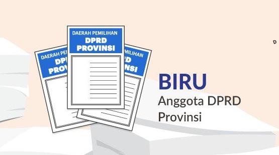 Surat Suara Anggota DPRD Provinsi